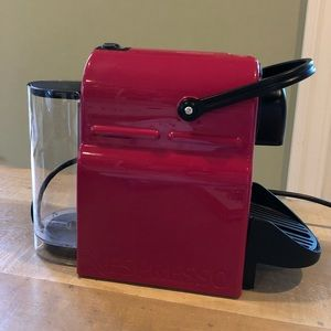 Great condition bright pink Nespresso
